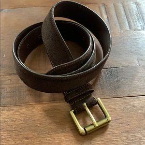 🔴100% genuine sueded leather belt